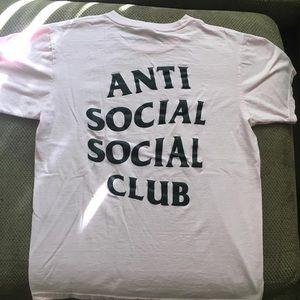 Anti social social club!